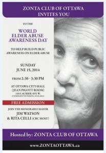Elder Abuse poster
